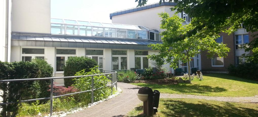 Außenbereich Matthias Claudius Heim