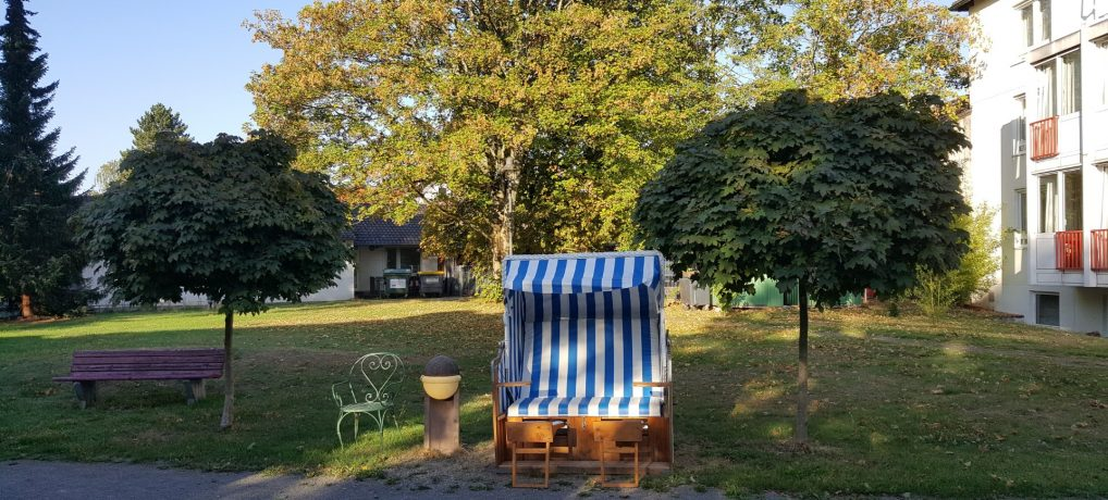 Garten Matthias Claudius Heim